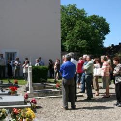 Cérémonie au cimetière pour les Dames Bergerot