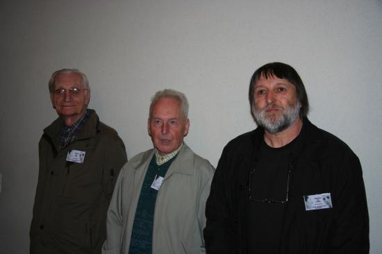 Trois membres de l'ANACR présent à la conférence