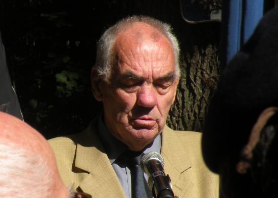 Discours de Hubert Paly (Vice-Président du comité Jura-Nord de l'ANACR de Jura)