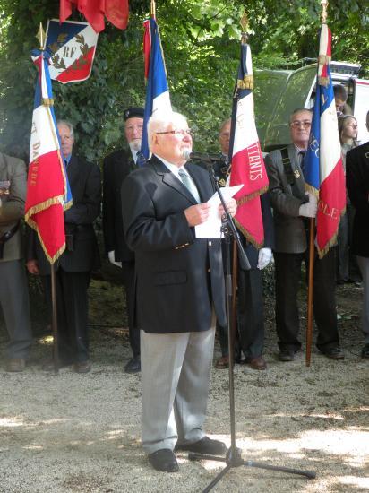 Discours de Fernand Ibanez (Co-Président de l'ANACR)