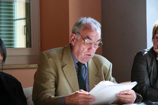 Intervention de Hubert Paly (Vice Président du comité Jura-Nord de l'ANACR)