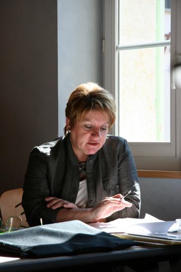 Intervention de Pierrette Bussière (Trésorière du comité Jura-Nord)