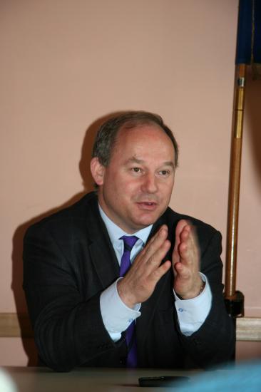 Intervention de Monsieur Daubigney (Maire de Tavaux)