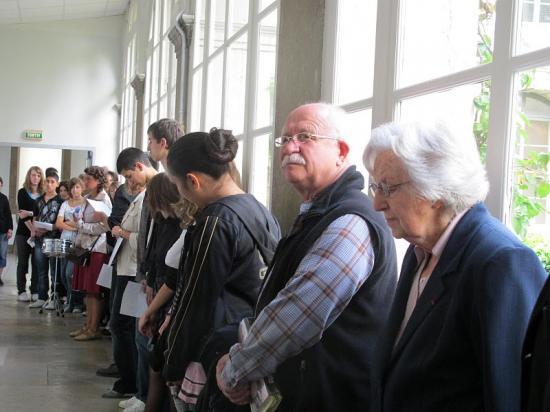 Commémoration-Conférence au collège Rouget De Lisle