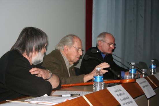 Conférence au carcom le 13 janvier 2010 : Lucie Aubrac et l'idée de Résistance