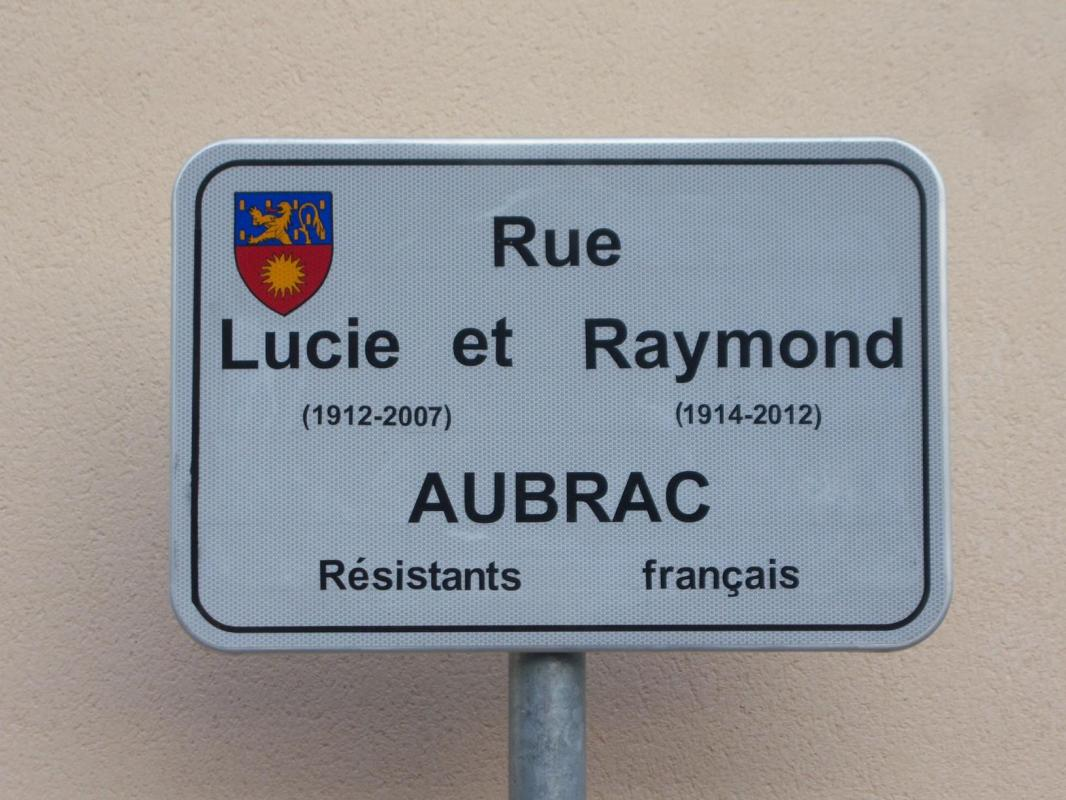 Rue Lucie et Raymond Aubrac