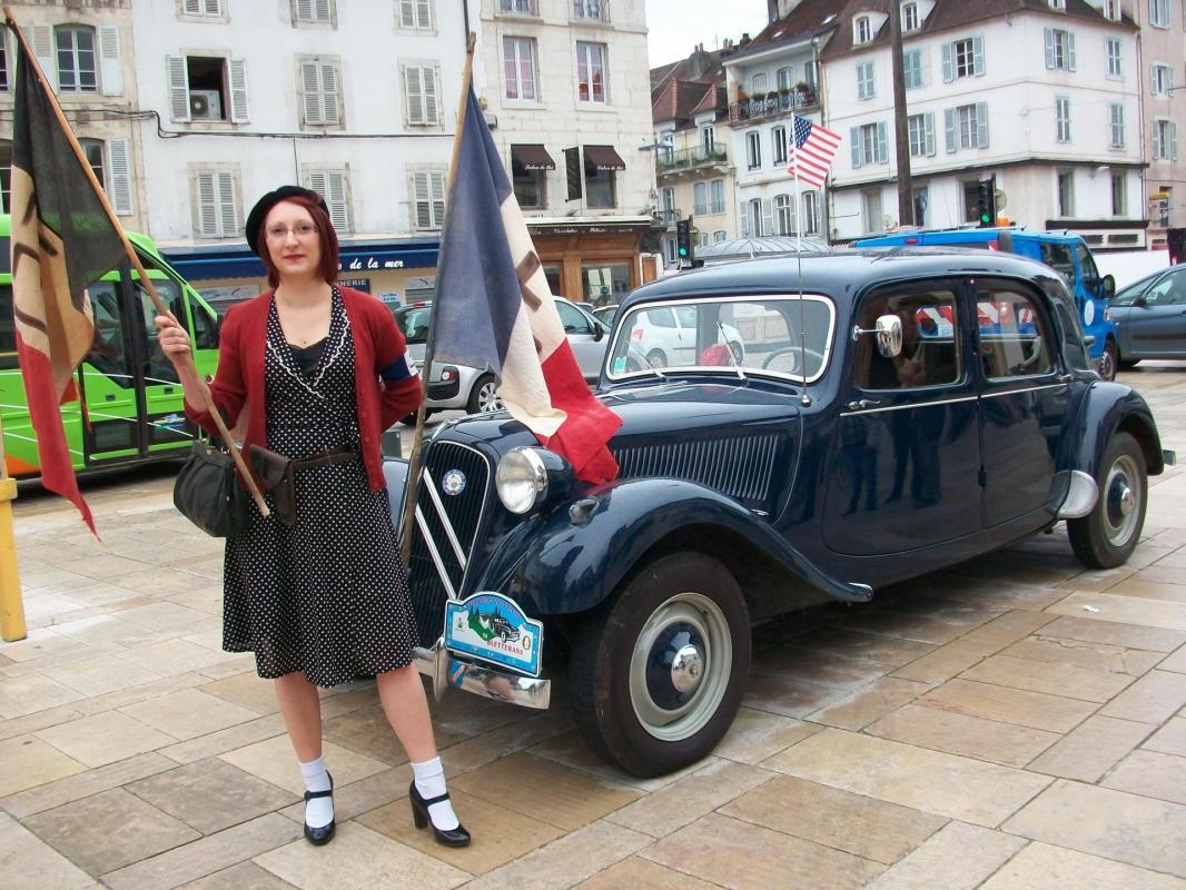 70ème anniversaire de la libération de Lons - ANACR Jura