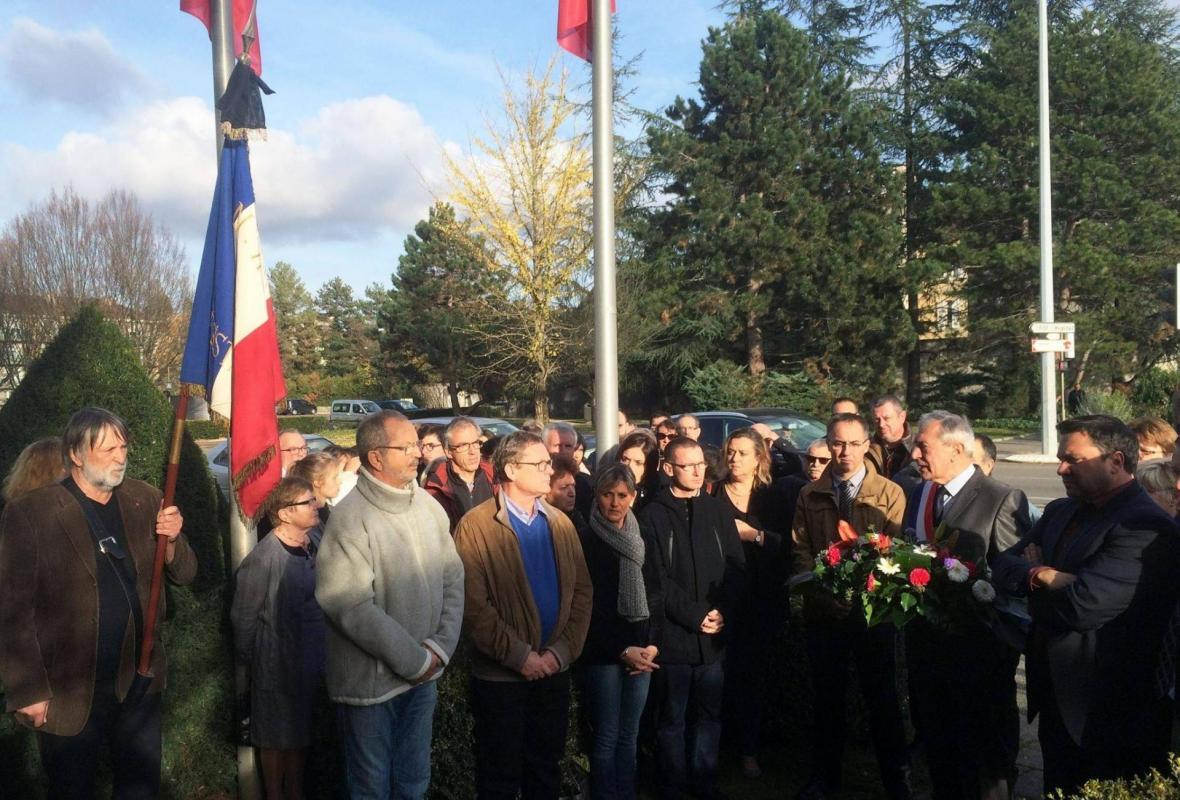ANACR Jura: hommage aux victimes des attentats de Paris