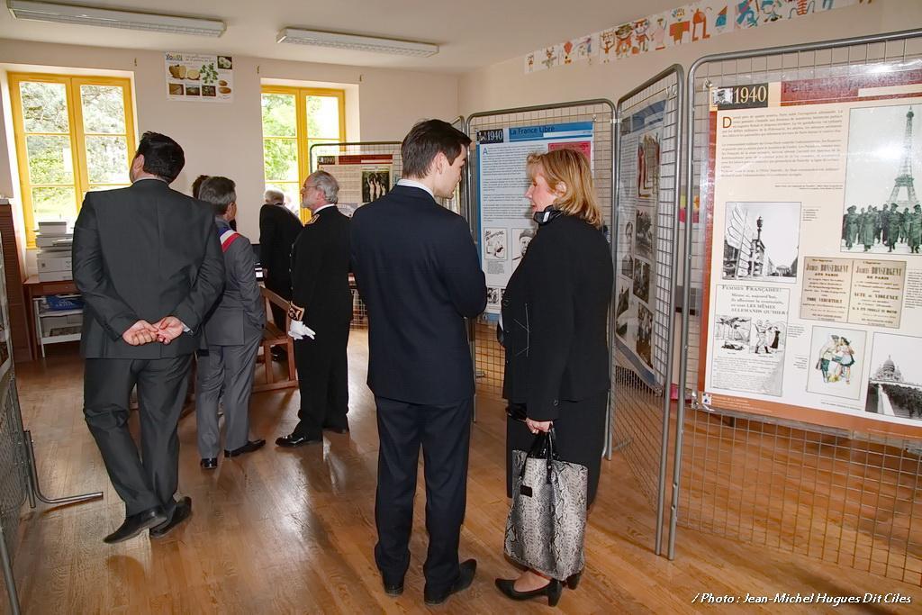 Inauguration école du souvenir Saint-Didier 2014