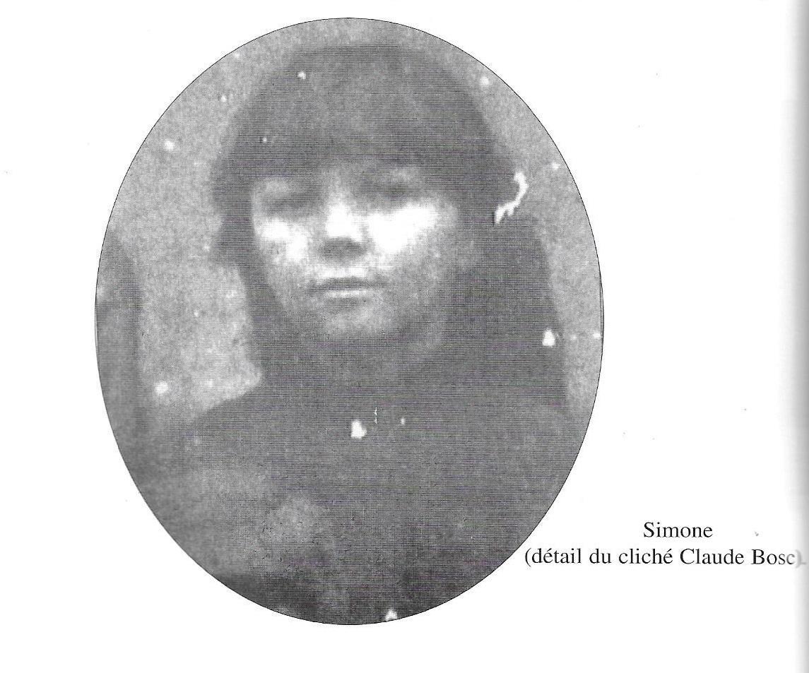 Simone Michel Lévy enfant