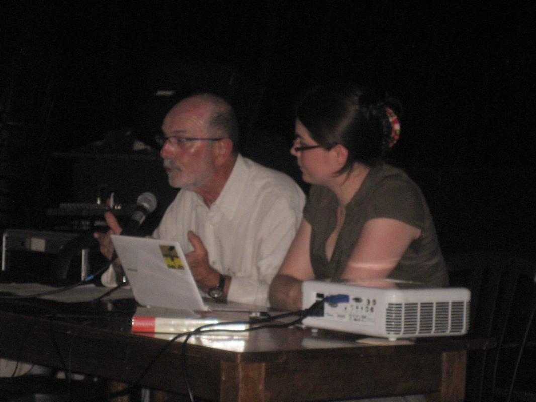 André Robert et Lysiane Cordier