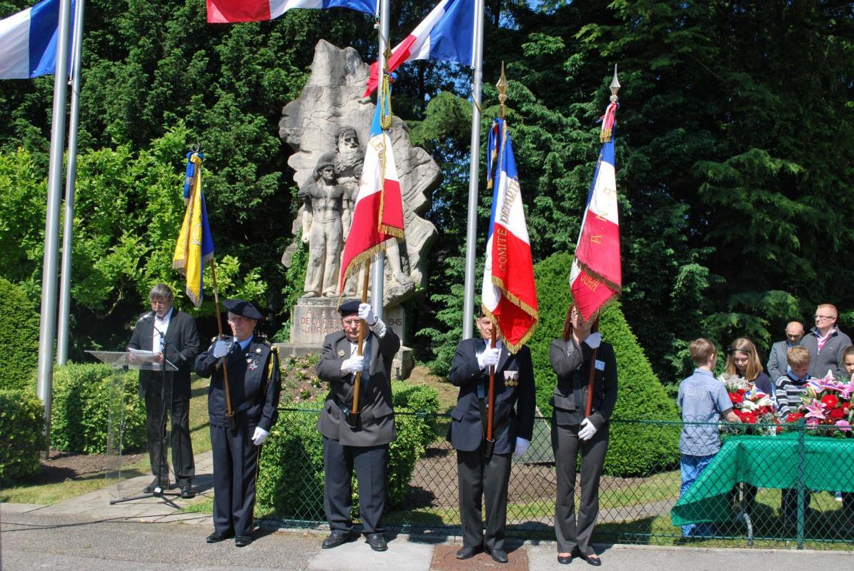 Cérémonie du 27 mai 2015: Discours de JC Herbillon ANACR