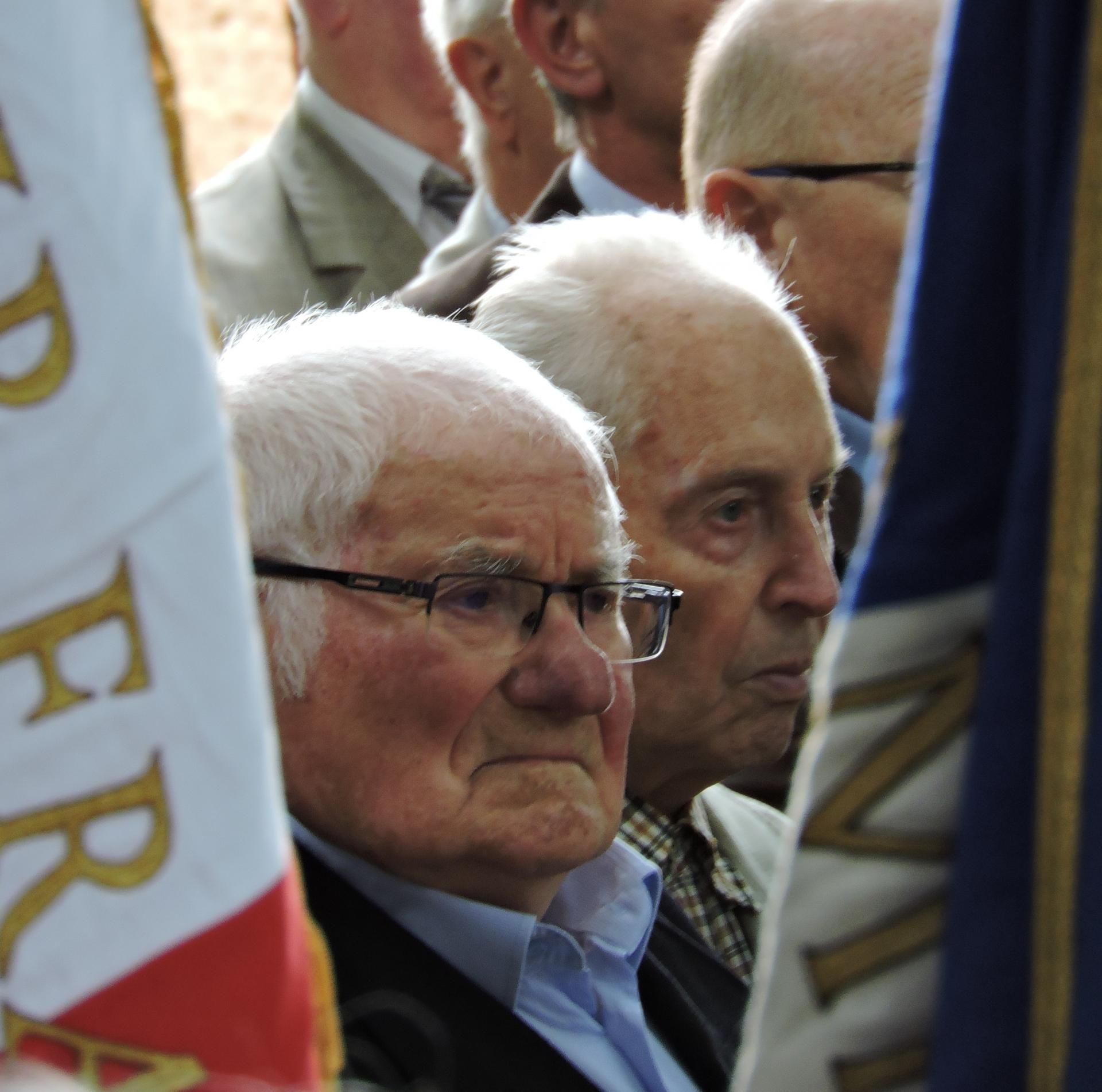Fernand Ibanez et Jean Machuron - Résistants