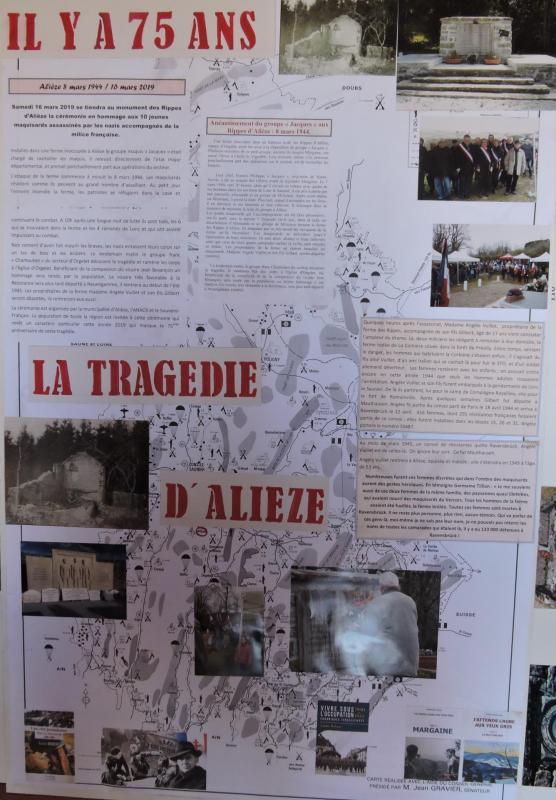 Panneau exposition Alièze