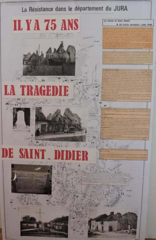 Panneau exposition Saint-Didier