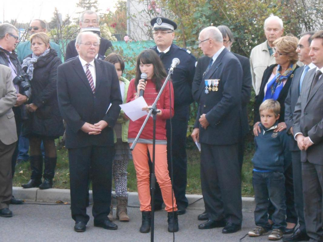 Inauguration de la rue Lucie et Raymond Aubrac