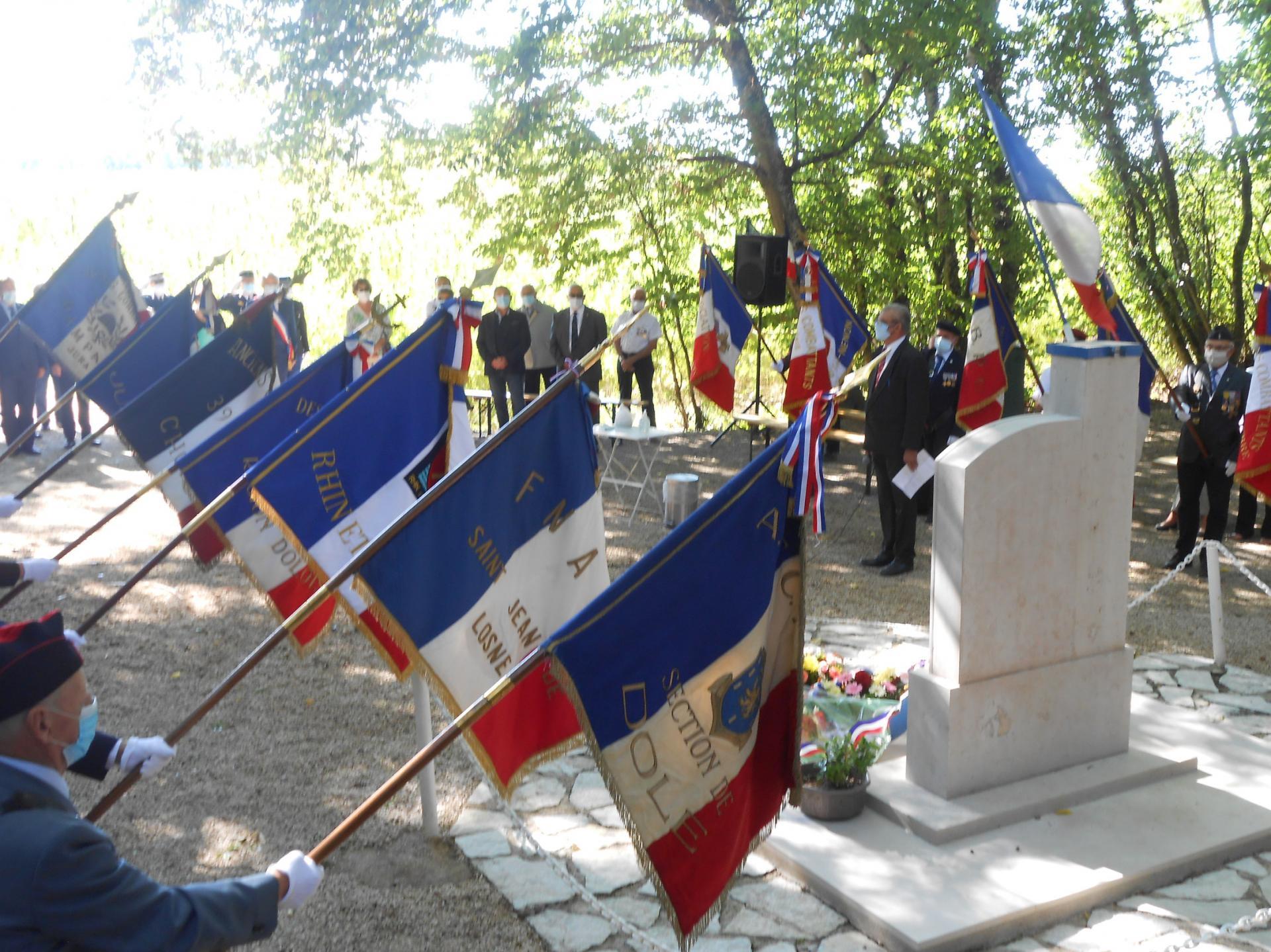 Cérémonie commémorative du Bois des Ruppes, 5 septembre 2020