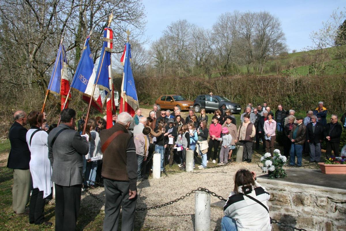 Cérémonie d'Alièze 2011